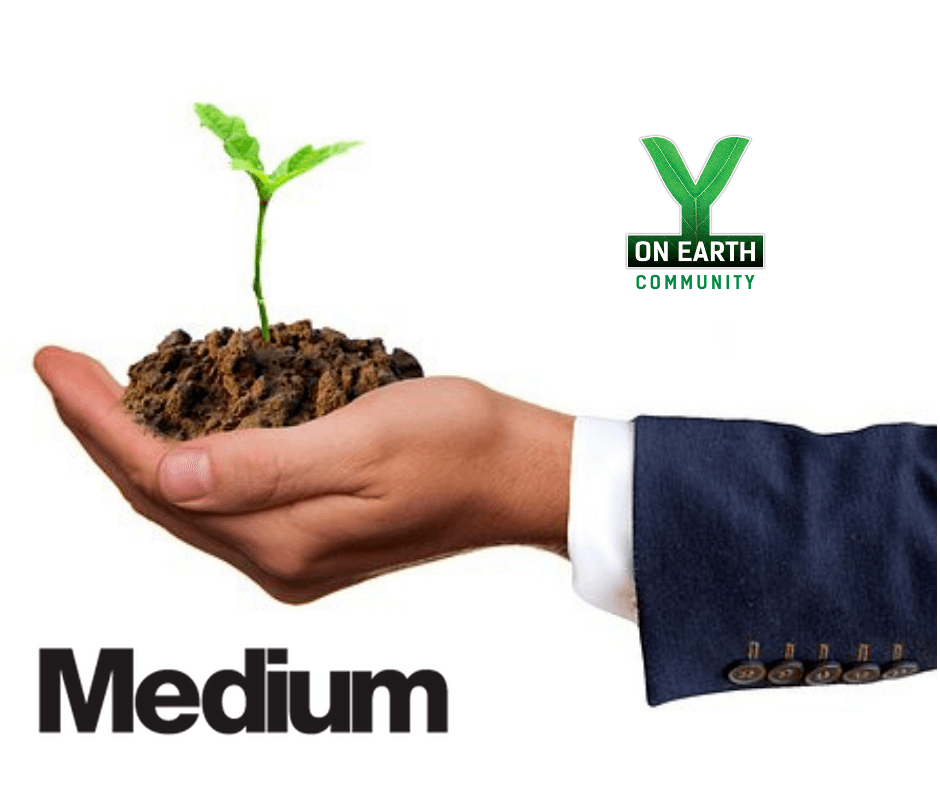 Hand in Suit Holding Soil - We Need Dirtier Politicians and Executives