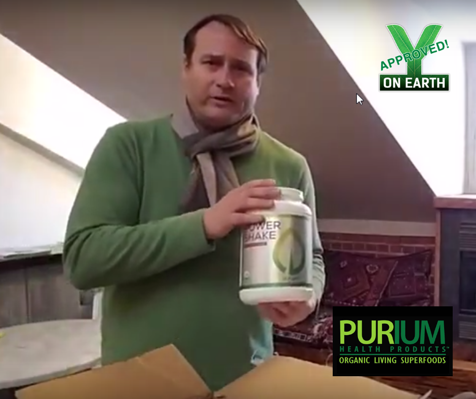 Aaron Perry Shares Purium Unboxing, Discounts & Donation Program