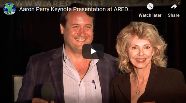 Aaron Perry delivers Keynote Address at AREDAY Summit 2019 - Y on Earth Communit
