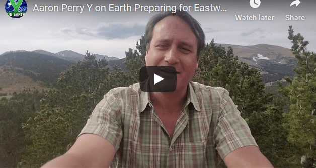 Aaron Perry Y on Earth Preparing for Eastward Journey Climate Week NYC - Image