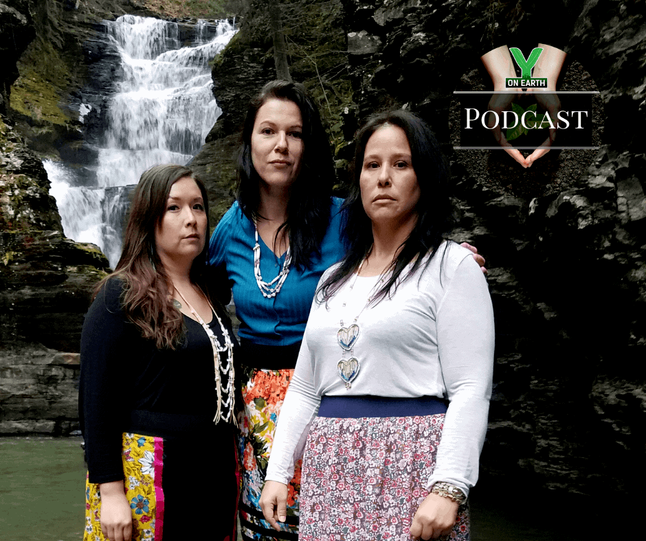 Three Sisters Sovereignty Project - at the Waterfall - Podcast